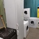 Белоснежный холодильник Candi 192 см, Новосибирск