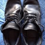 Туфли ecco, нат.кожа, после замены подошвы р.42,5, Новосибирск