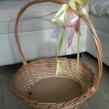 продам плетеную корзинку, Новосибирск
