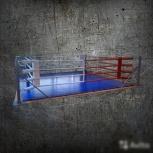 Ринг напольный,на подиуме, на подиуме с помостом, Новосибирск