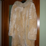 Продам шубу из овчины , размер 42, для девочки, Новосибирск