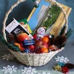 Подарочные плетеные корзины, Новосибирск
