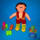 Мальчик Васенька мягкая игрушка, Новосибирск