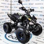 Детский квадроцикл ATV-BOT RAPTOR 125 черный/зеленый, Новосибирск