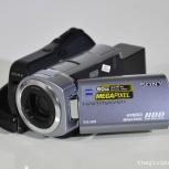 Видеокамера Sony DCR-SR85 + аккумулятор NP-FH100, Новосибирск