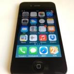 Продам телефон iPhone 4 8Gb черный, Новосибирск