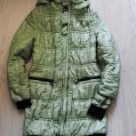 пальто весеннее 38 размер цвет фисташковый, Новосибирск