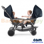 Продам коляску для двойни или погодок CAM, Новосибирск