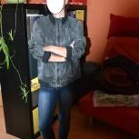 Продам кожаную куртку Pull and Bear,, Новосибирск
