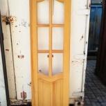 Двери массив сосна под остекление, Новосибирск
