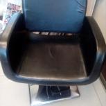 Продам черное парикмахерское кресло, Новосибирск
