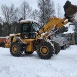 Заказ фронтального погрузчика на уборку снега, Новосибирск