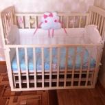 Детская кроватка с маятником, Новосибирск