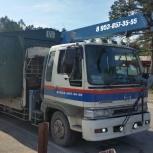Самогруз 5-6 тонн. Услуги самогруза. Аренда самогруза. Заказ самогруза, Новосибирск