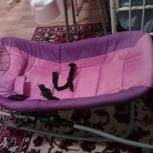 Продам детское кресло качалку (кресло-шезлонг) / новое, Новосибирск
