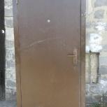 Дверь, россия, металл 0.8мм, левый берег, Новосибирск