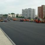 Асфальтирование тротуаров и дорог, Новосибирск