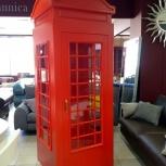 Английская телефонная будка, Новосибирск