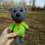 Вязаные игрушки Медведь, Новосибирск