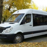 Заказ, аренда, услуги микроавтобуса Мерседес 18-20 мест, Новосибирск
