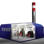 Блочно-модульная котельная установка пар, вода, Новосибирск