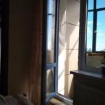 Дверь балконная в отс, Новосибирск