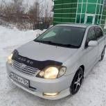 На газе. Аренда авто Toyota-Runx, Allex, Camry, Honda Fit, Mitsubishi, Новосибирск