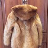 Шуба из енота, с капюшоном, Новосибирск