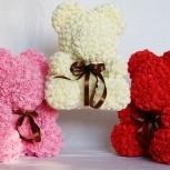 Доставка мишек из фоамирановых роз, Новосибирск