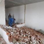 Демонтаж в квартирах и домах с вывозом мусора., Новосибирск