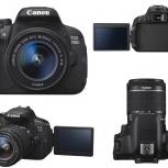 Продам фотокамеру Canon EOS 700D Kit 18-55mm, Новосибирск
