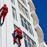 Высотные работы. Промышленные альпинисты. Гарантия!, Новосибирск