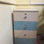 Продам тумбу 4 ящика, новая, Новосибирск