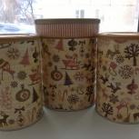 продам  баночки новогодние набор, Новосибирск