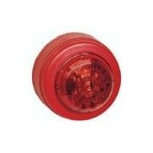 Строб-лампа красная, красный корпус, x-line, Новосибирск