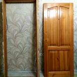 Дверь деревянная филенчатая (кедр сибирский), Новосибирск