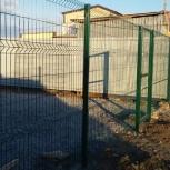 Забор Гардис Fit 3D 1.73 м. с монтажом, Новосибирск