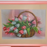 """Картина """"Тюльпаны"""", Новосибирск"""