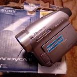Продам видеокамеру SONY DCR-HC96EВ, Новосибирск