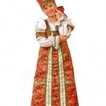 Карнавальный детский русский костюм Аленушка, Новосибирск