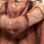 Норковая шуба с капюшоном, Италия, Новосибирск