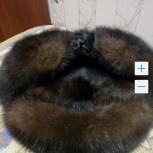 Шапка мужская норка, Новосибирск