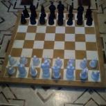 Шахматы 40 на 40 см, Киевпласт., Новосибирск