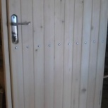 Двери входные из дерева в т.ч для бани, Новосибирск