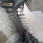 Лестницы, ограждения, изготовление, монтаж, Новосибирск