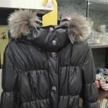 Куртка зимняя из экокожи, Новосибирск
