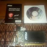 """Продам видеокарту """"Geforce GT710 1gb GDDR5"""", Новосибирск"""