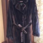 Норковая шуба из аукционной норки Saga furs, Новосибирск