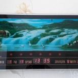 Продам настенные электронные часы, Новосибирск