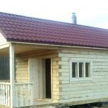 Строительство дачных домов, бань, Новосибирск